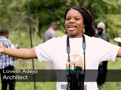 Architect Loveth Adejo: Introductory Ornithology Field Course participant - one year after